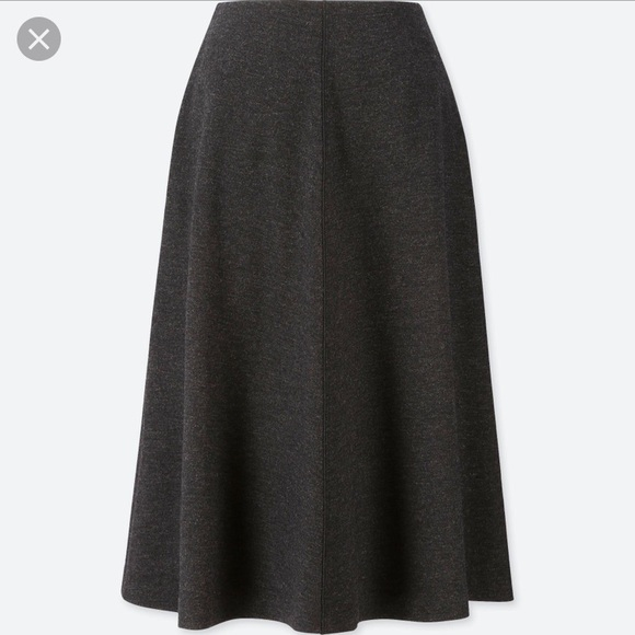 e0187a7853 Uniqlo Skirts | Last Call Firm Price Nwt Flare Skirt S | Poshmark